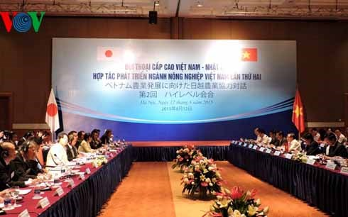 Vietnam-Japan high-level dialogue on agricultural co-operation opens