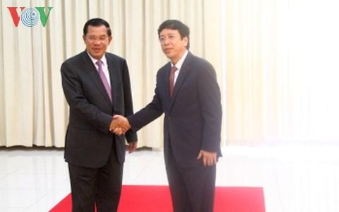 VOV President meets Cambodian Prime Minister Hunsen