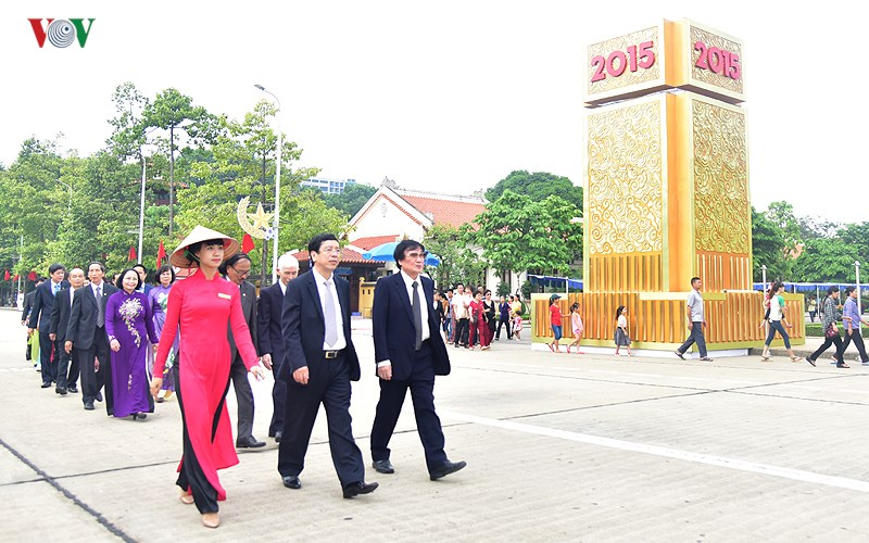 VOV leaders pay tribute to President Ho Chi Minh