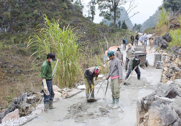 Ha Giang's Meo Vac district: Building consensus in new rural development