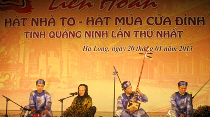 Hat cua dinh- Folk singing of Quang Ninh province