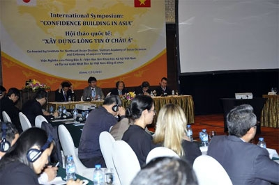 Trust building to ensure peace and stability in Asia