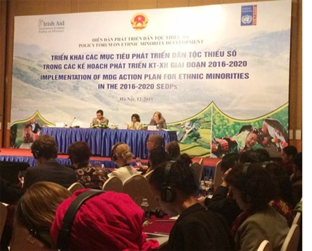 Forum on implementation of MDG action plan for ethnic minorities opens