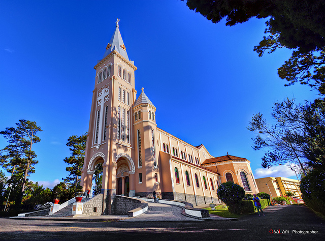 Two magnificent cathedrals in Dalat