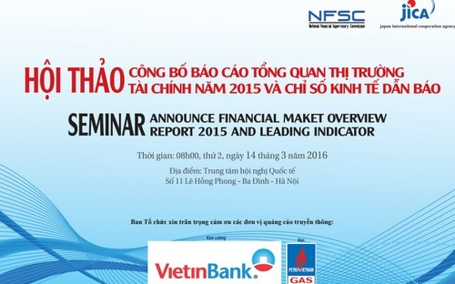 Vietnam's Financial Market Overview Report 2015 announced