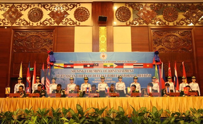 13th ASEAN Chiefs of Defence Forces Informal Meeting (ACDFIM – 13) closes in Vientiane
