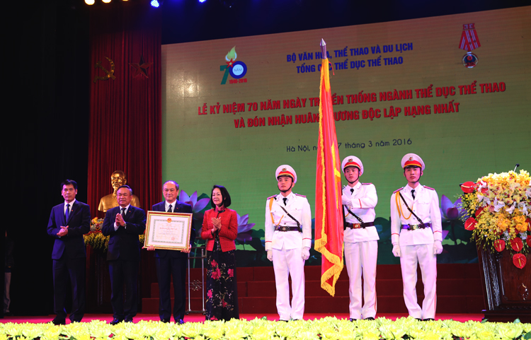 Meeting to mark 70th anniversary of Vietnam Sports Day