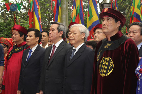 Death anniversary of Hung Kings commemorated in Phu Tho