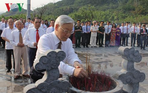 110th birth anniversary of Party General Secretary Ha Huy Tap