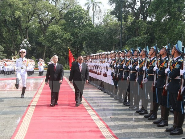 Vietnam, Laos boost comprehensive cooperation