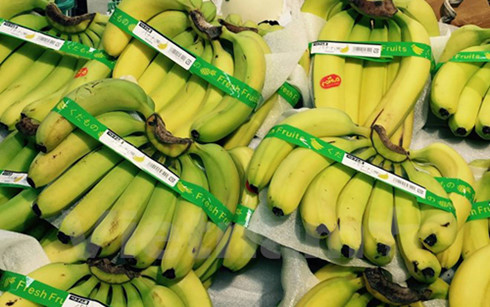 Vietnam's bananas sold in Japan