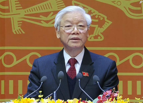 Party General Secretary Nguyen Phu Trong received Communist Party of China delegation