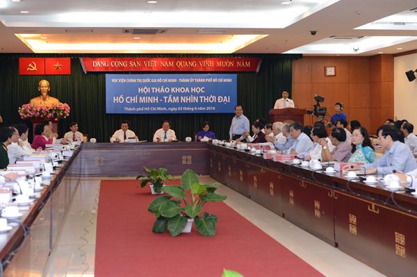 Scientific workshop on Ho Chi Minh's vision