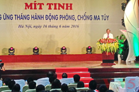 Action month of drug prevention and control launched
