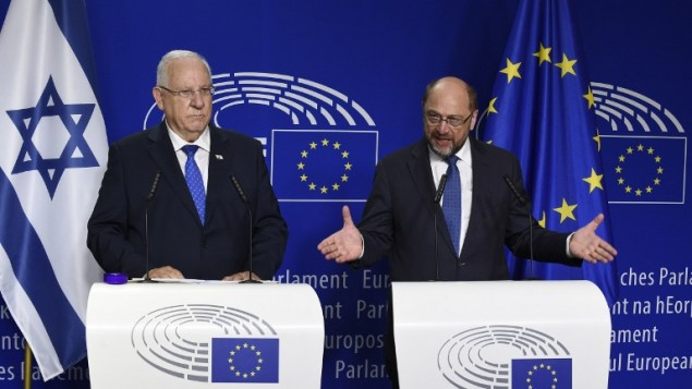 Palestinian and Israeli leaders fail to meet in Brussels