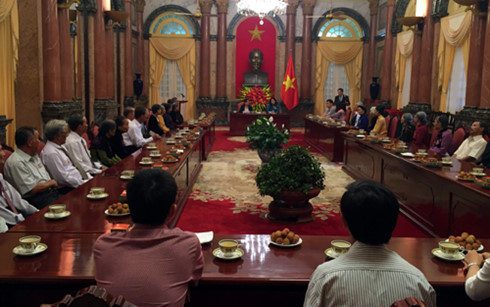 Vice President Dang Thi Ngoc Thinh receives delegation from Quang Nam