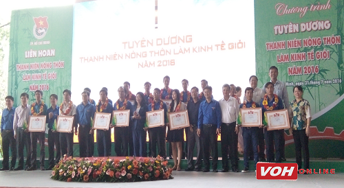 Ho Chi Minh City praises young people with successful business operations
