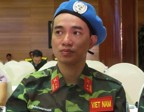 Vietnam active in participating in the UN Peacekeeping Mission