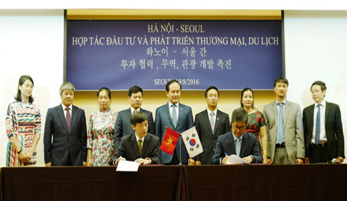 Hanoi, Seoul promote cooperation in various fields