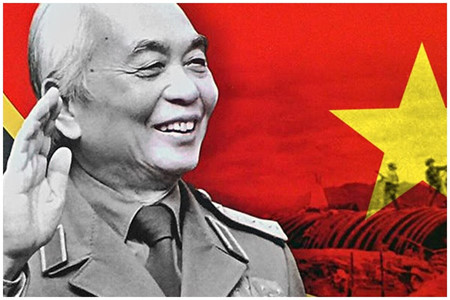 General Vo Nguyen Giap lives forever in people's mind