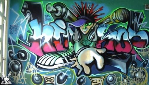 Graffiti Fest held by Hanoi Creative City