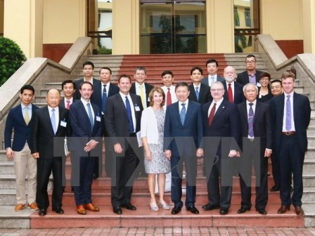 Minister of Public Security To Lam receives the US-ASEAN Business