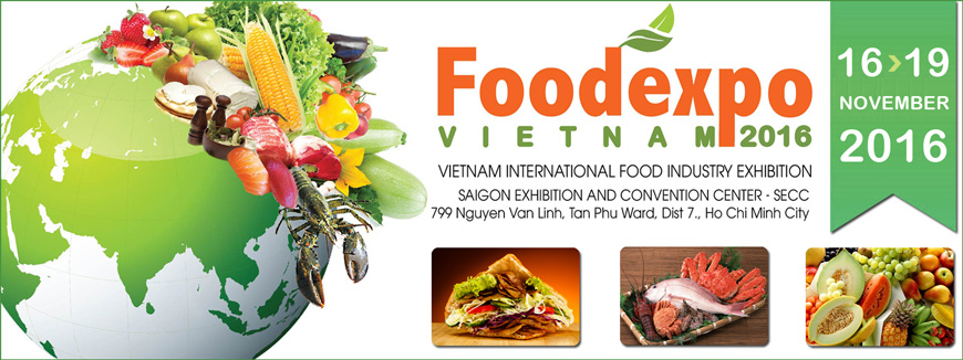 Vietnam Foodexpo 2016 to showcase products from 15 countries