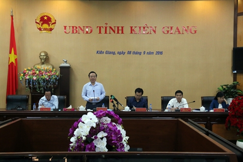 NA Vice Chairman Phung Quoc Hien visits Kien Giang province