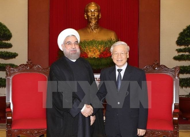 Iranian President wants to reinforce ties with Vietnam