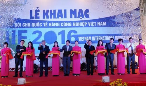 25th Vietnam International Industrial Fair in Hanoi