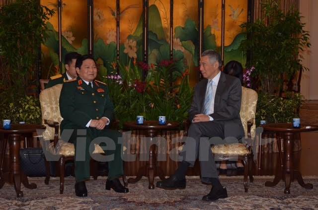 Boosting Vietnam, Singapore defense cooperation
