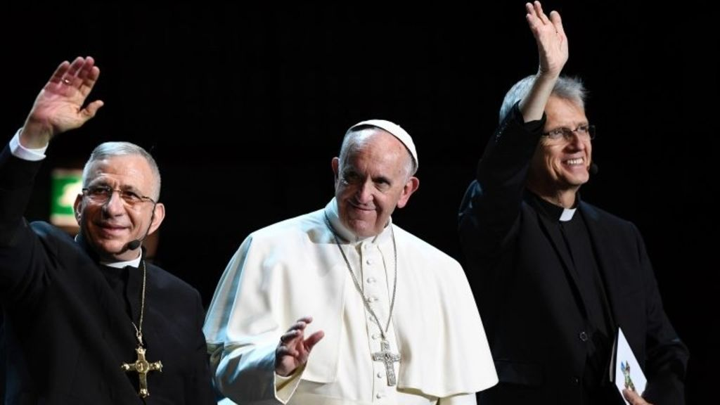 Implication of Pope Francis' visit to Sweden