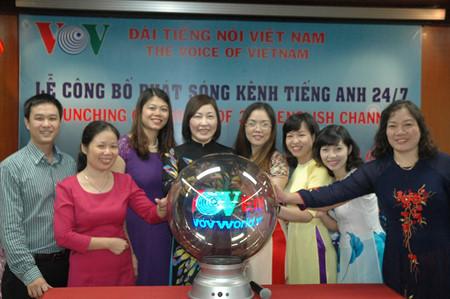 1st anniversary of VOV English 24/7