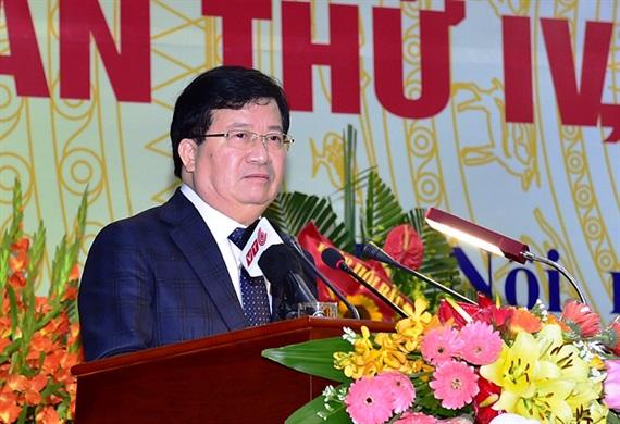 Deputy PM Trinh Dinh Dung attends Congress of Vietnam Urban Association