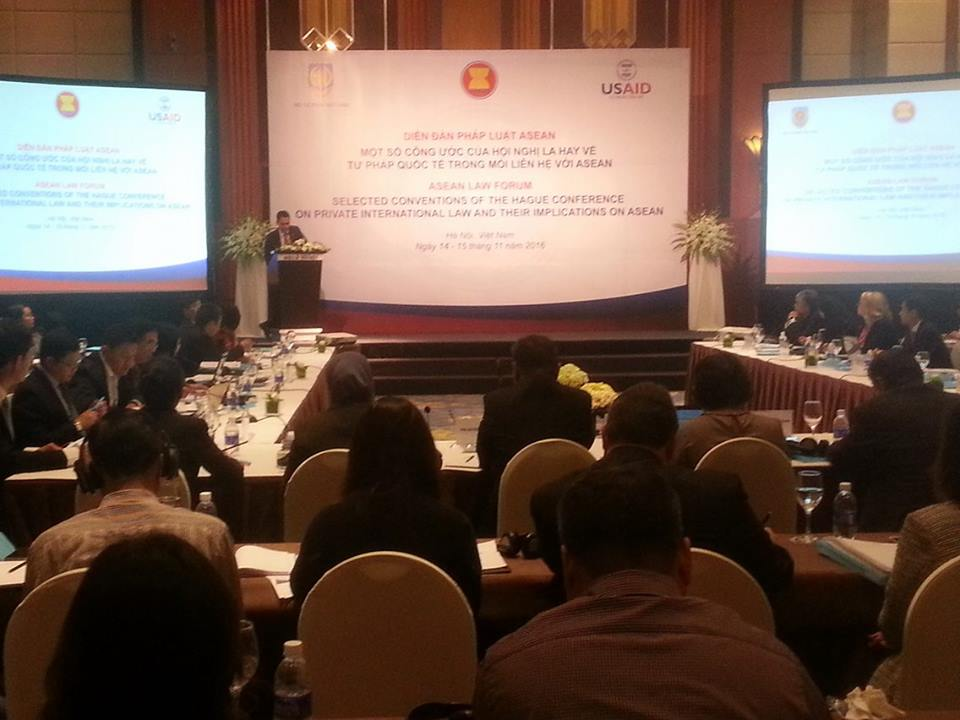 ASEAN Forum touches upon Hague conventions on international justice
