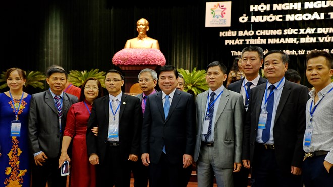 Mobilizing Overseas Vietnamese to national development