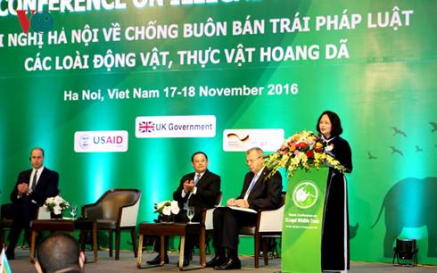 Vietnam active in combating wildlife trafficking
