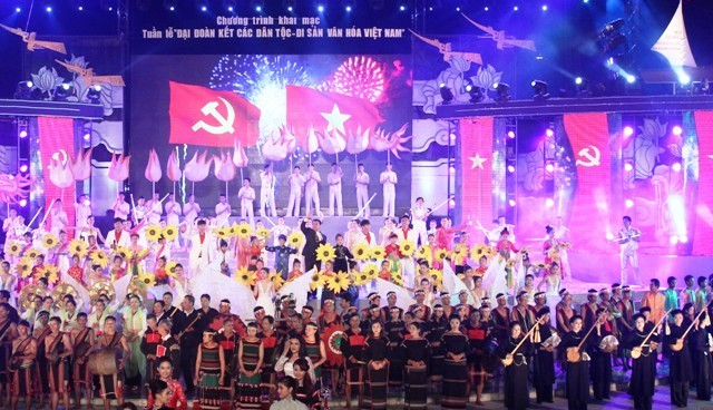 Vietnam's intangible cultural heritage and Vietnam's Great Unity Week converge