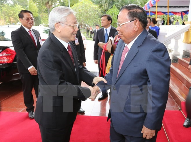 Party leader's visit provides momentum for greater Vietnam-Lao cooperation