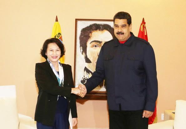 NA Chairwoman meets Venezuelan President