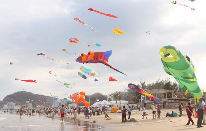 Ba Ria-Vung Tau to host 2016 international kite festival