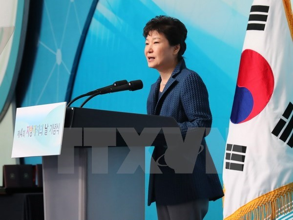South Korea opposition introduces a bill to impeach President Park