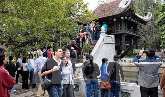 Hanoi receives 4 million international tourists