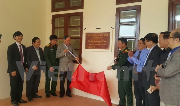 First cultural house for AO victims opens
