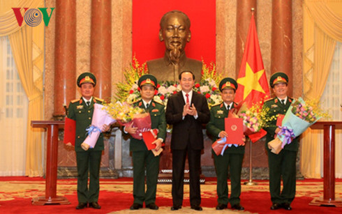 High-ranking officers promoted to Senior Lieutenant Generals