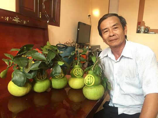 Shaping fruits for New Year Celebration