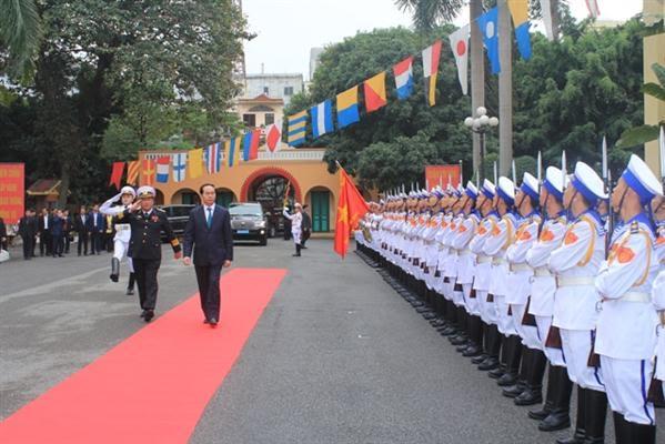 President Tran Dai Quang pays Tet visit to Hai Phong