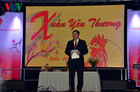 Vietnamese in Germany celebrate the Lunar New Year