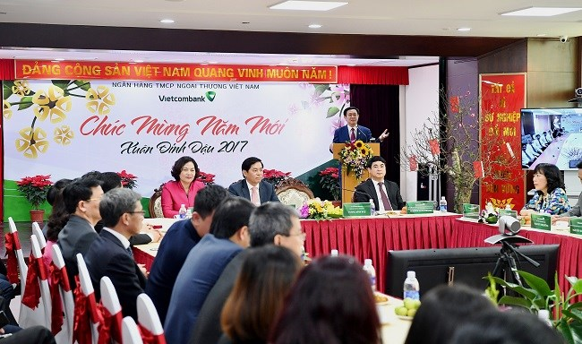 Vietcombank is urged to be in the list of top 300 banks