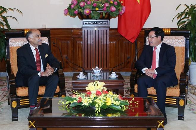Deputy Prime Minister receives Indian Ambassador